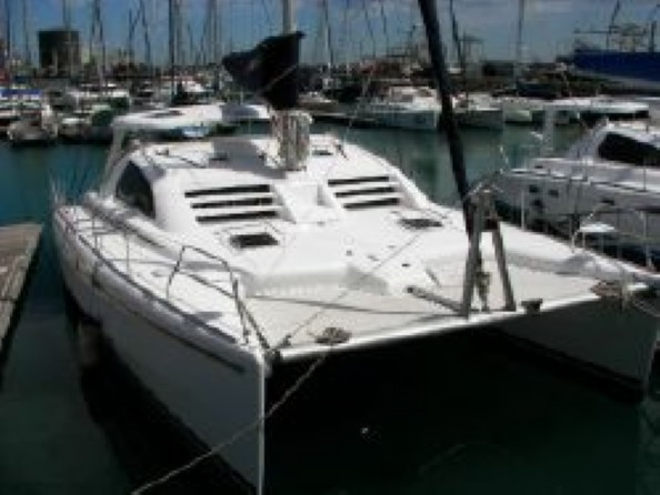 Used Sail Catamaran for Sale 2006 Leopard 43